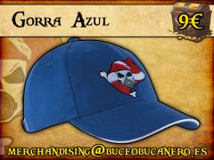 Gorra Buceo Bucanero Azul - 9€