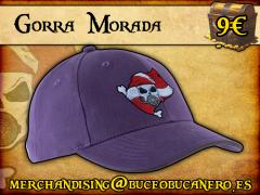 Gorra Buceo Bucanero Morada - 9€