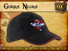 Gorra Buceo Bucanero Negra - 9€