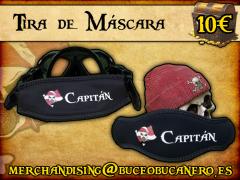 Tira de máscara personalizada - 10€