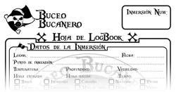 muestra de hoja de logbook
