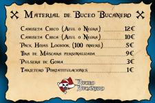 Material de Buceo Bucanero